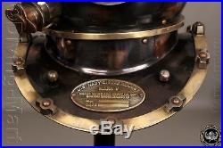 Antique Scuba 18 Diving Helmet US Navy Mark V Vintage Christmas Halloween Gift