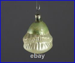 Blown Glass Ornament Clown head, ca. 1920 (# 10508)