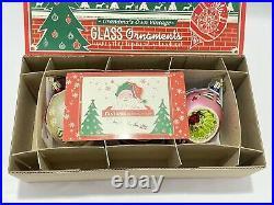 Christopher Radko Fantasia Select Edition Ornaments with Box Glass Christmas EUC