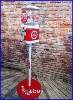 Coca cola Coke memorabilia vintage gumball machine Acorn glass Christmas gift