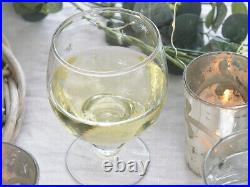 French Vintage Wine Glass Champagne Water Tumbler Star Decor Wedding Gift Chic