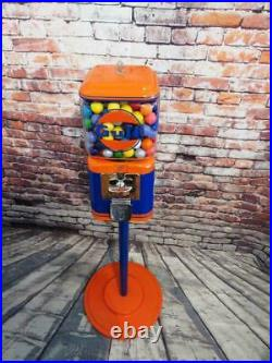 Gulf gas vintage Acorn glass gumball machine Unique Christmas gift penny machine