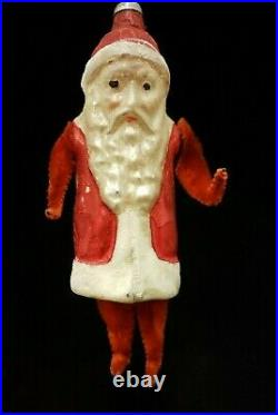 Rare Vintage 1920's Chenille Legs & Arms Glass Ornament