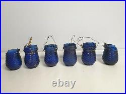 Victorian/Edwardian Antique Vintage Glass Christmas Fairy Lights