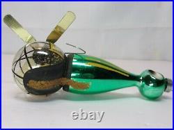 Vintage 1940's De Carlini Helicopter Christmas Tree Ornament Rare