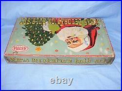 Vintage Christmas Figural Tree Decoration Lights Bulbs Milk Glass Astra