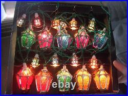 Vintage Pifco 1299 Set 20 London Lights Christmas All Working Hong Kong ESSEX 1